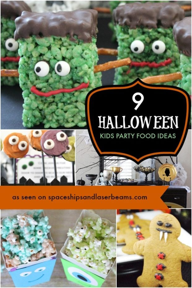 9 creepy halloween party treats spaceships and laser beams for Halloween party food ideas for kids