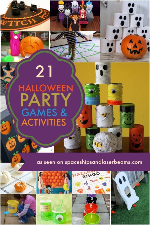 Halloween Favor Idea How To Make Diy Bubbles Spaceships