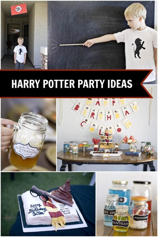 Delightful Harry Potter party ideas from Spaceships and Laser Beams