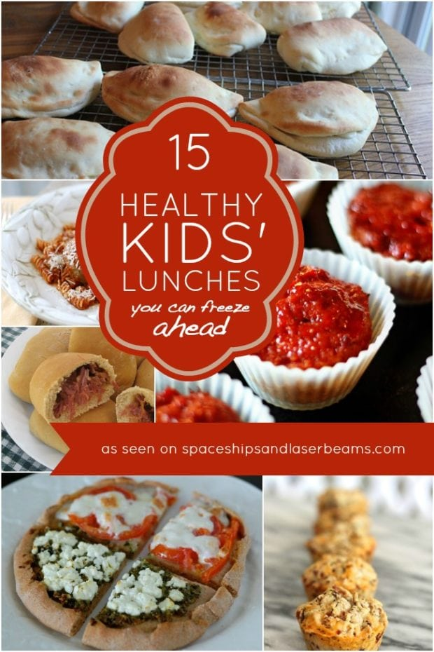 Healthy Kids Lunch Ideas You Can Freeze Ahead