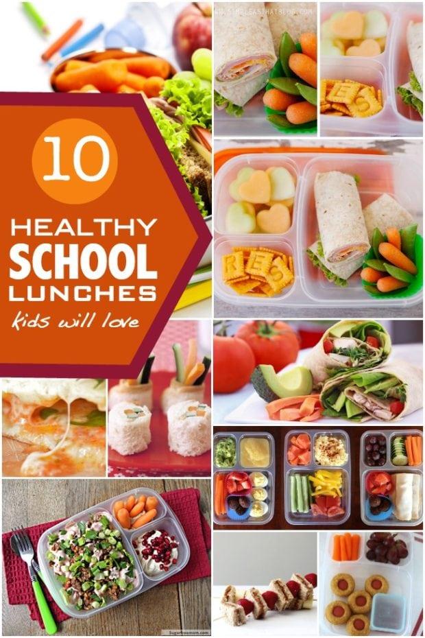 10 Healthy School Lunch Ideas | Spaceships and Laser Beams