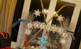 Hockey Winter Dessert Table Birthday Party 233049