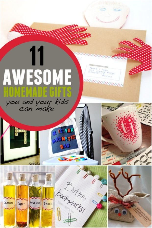 11 Awesome Homemade Gifts You And Your Kids Can Make