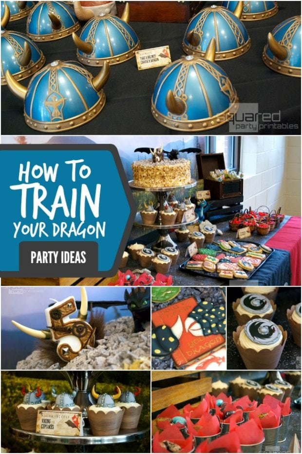 How To Train Your Dragon 2 Inspired Boy S Birthday Party