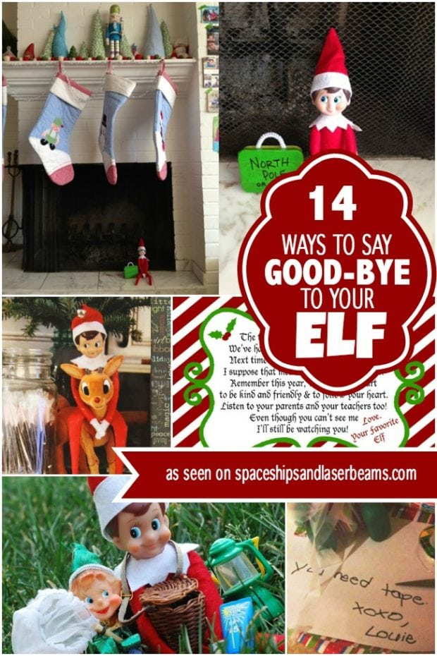 Ideas To Say Goodbye To Elf On The Shelf