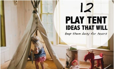 Stunning Indoor Play Tent Pictures - Decoration Design Ideas ...