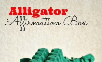 kid s project idea alligator affirmation box spaceships