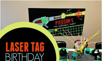 Laser Tag Birthday Party Ideas