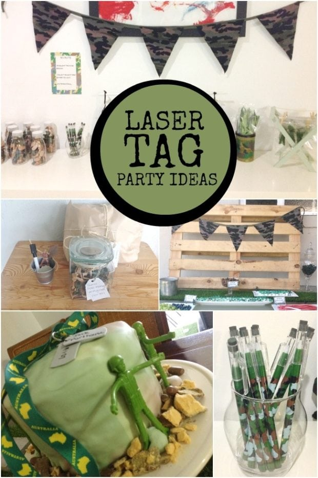 Budget Friendly Laser Tag Boys 7th Birthday Party