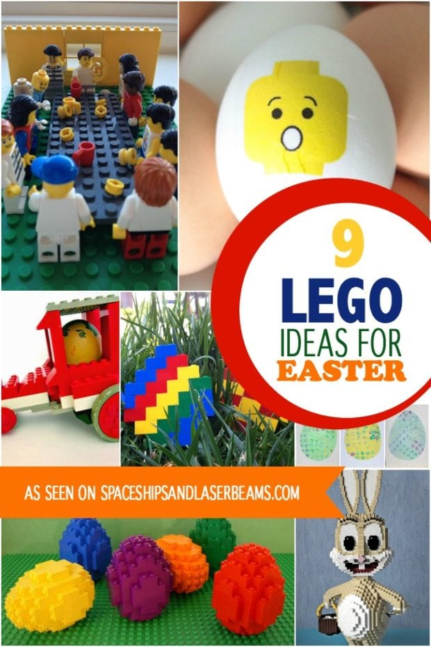9 Lego Ideas For Easter Spaceships And Laser Beams