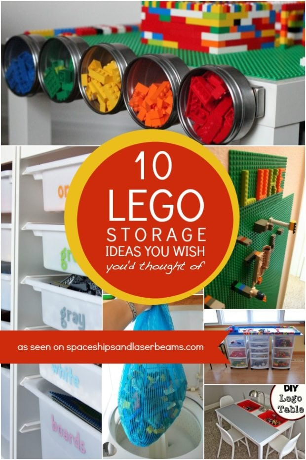 10 Lego Storage Ideas You Wish You D Thought Of Spaceships And Laser Beams