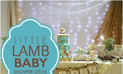 A Little Lamb Boy Baby Shower