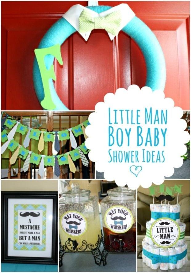 Boy Baby Shower Cakes