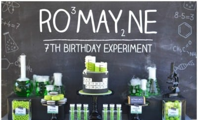 Mad Science Birthday Party Ideas Spaceships And Laser Beams