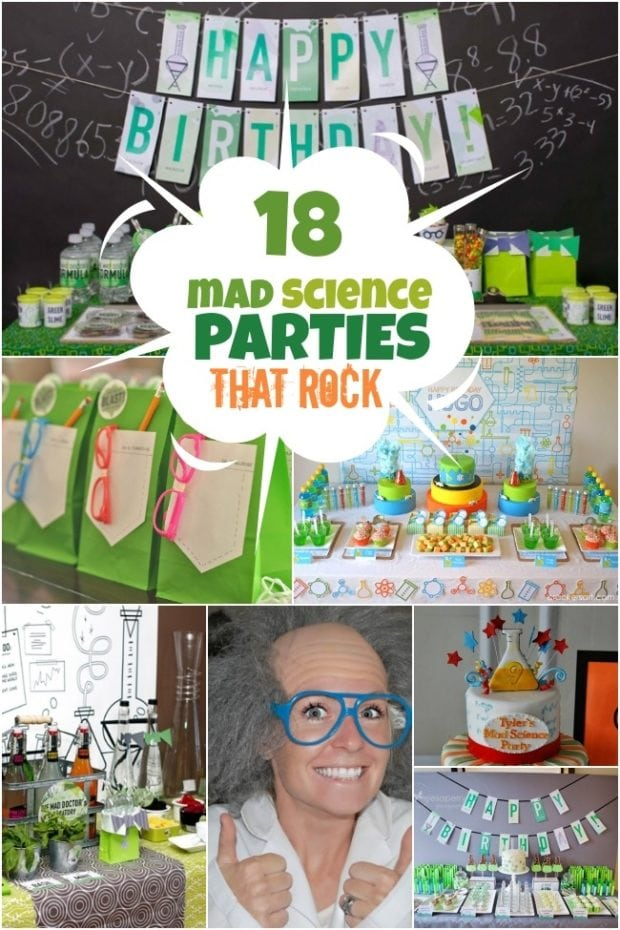 A Boy S Laboratory Science Birthday Party Spaceships And