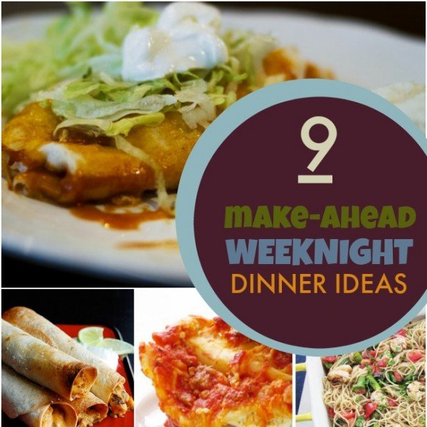 Healthy Make-Ahead Dinners