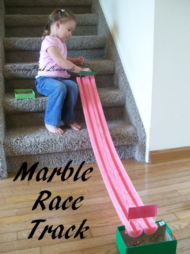 Kid S Party Games Marble Race Track Spaceships And