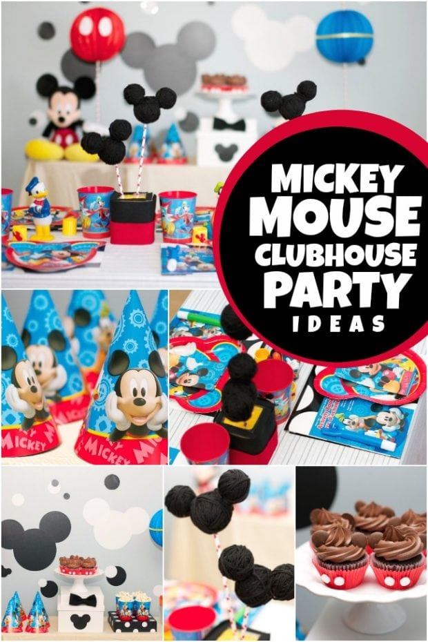 A Disney Junior Mickey Mouse Birthday Party Spaceships