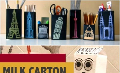Milk Carton Crafts Boys Will Love
