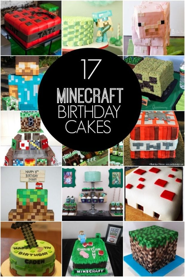 mind craft party ideas 17 of the coolest minecraft birthday cakes created 4942