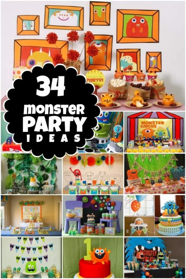 34 Monster Birthday Party Ideas Spaceships And Laser Beams