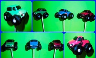 Monster Truck Cake Pops Birthday Party Dessert Table 645937 N