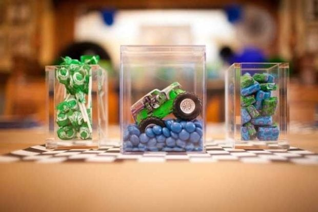 9 Monster Truck Party Ideas Spaceships And Laser Beams