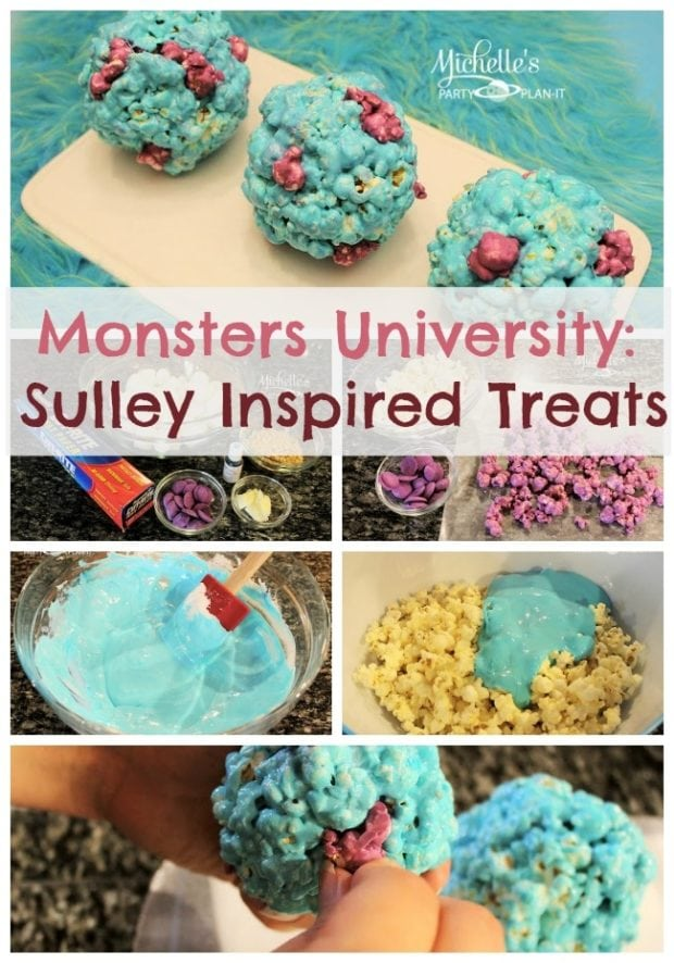 Monsters University Party Sulley Inspired Dessert Idea