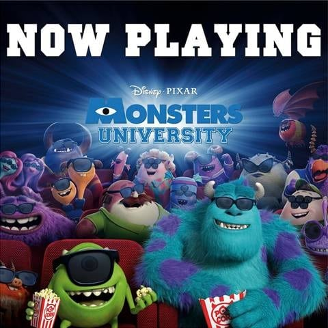 Free Monsters University Printable Coloring Pages And