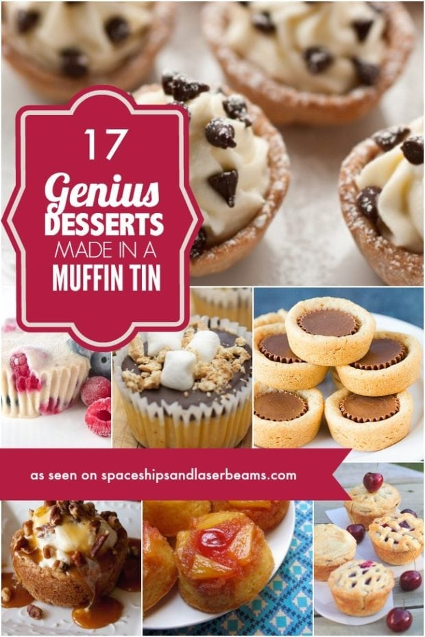 17 Desserts Made in a Muffin Tin