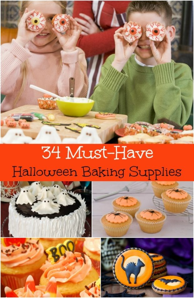 34 Must Have Halloween Baking Supplies Spaceships And