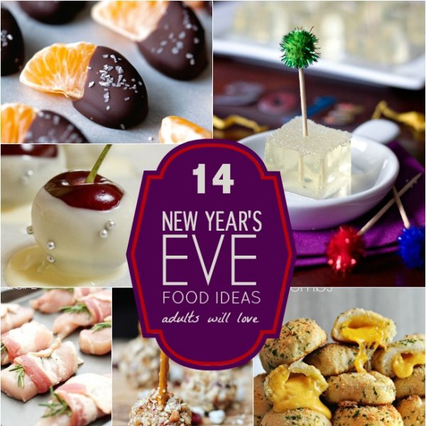 14 New Year's Eve Food Ideas Adults Will Love | Spaceships ...