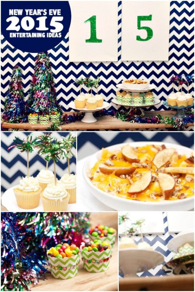 New Year's Eve Entertaining Ideas | Spaceships and Laser Beams
