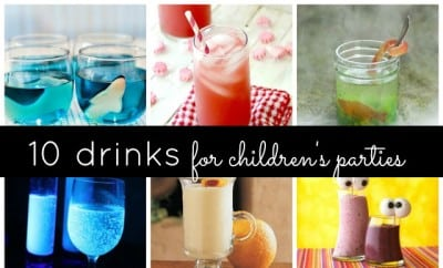 10 fun drinks to serve at children 39 s parties non alcohol for Fun cocktails to make