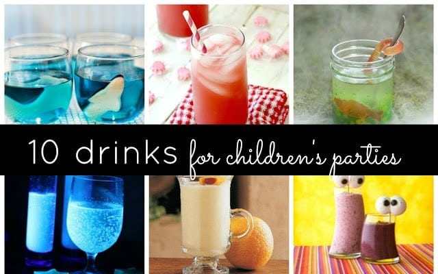 10 Fun Drinks To Serve At Children S Parties Non Alcohol Drink Ideas Eships And Laser Beams