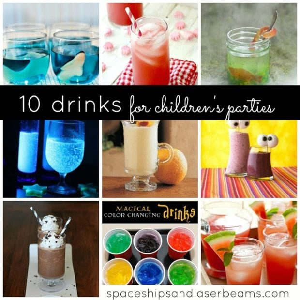 10 Fun Drinks To Serve At Children S Parties Non Alcohol