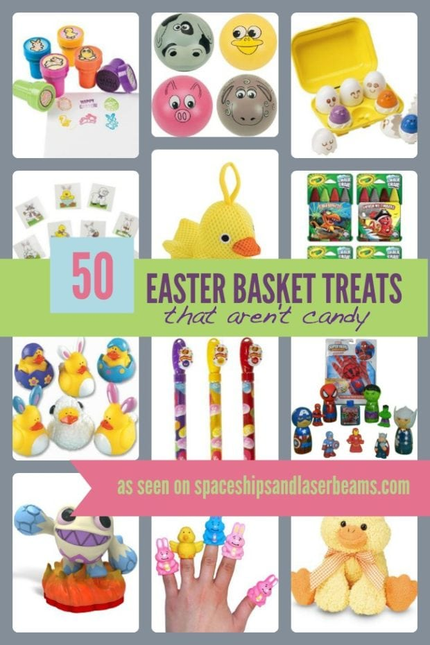 Non Candy Easter Basket Treats