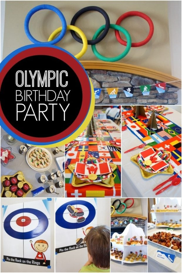 Olympic Birthday Party Ideas Boysjpg