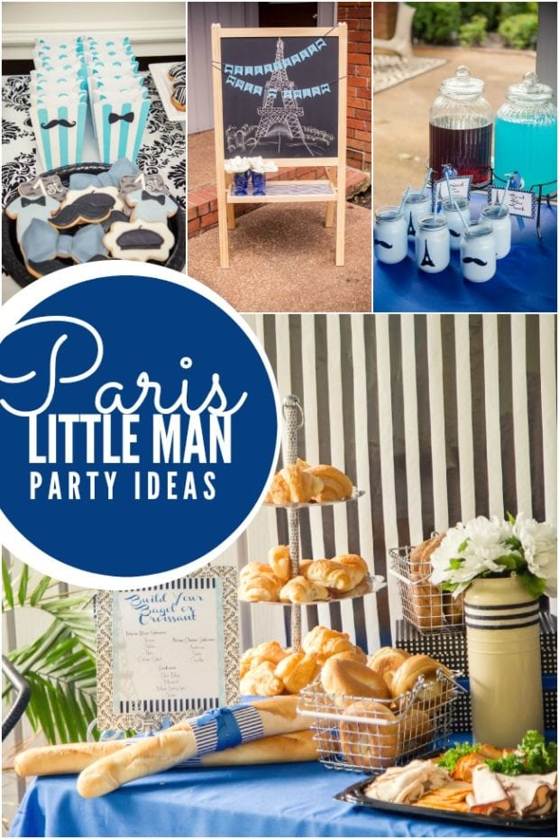 Paris Themed Birthday Party Ideas Boys