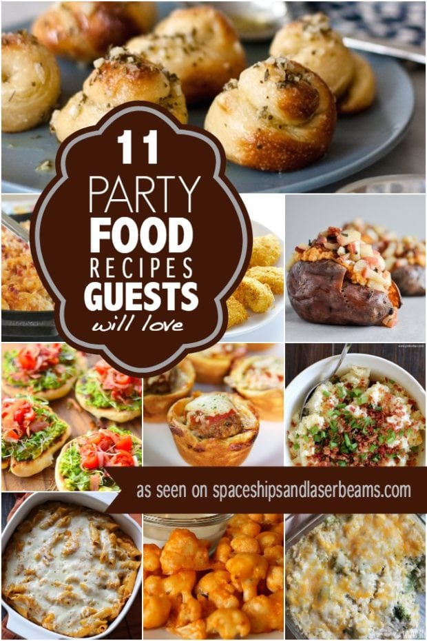 party food recipes 11 food recipes guests will spaceships and 30891