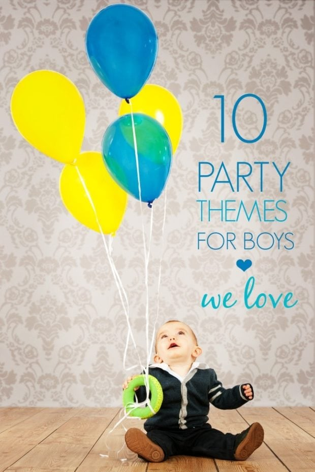 10 Party Themes For Boys We Love