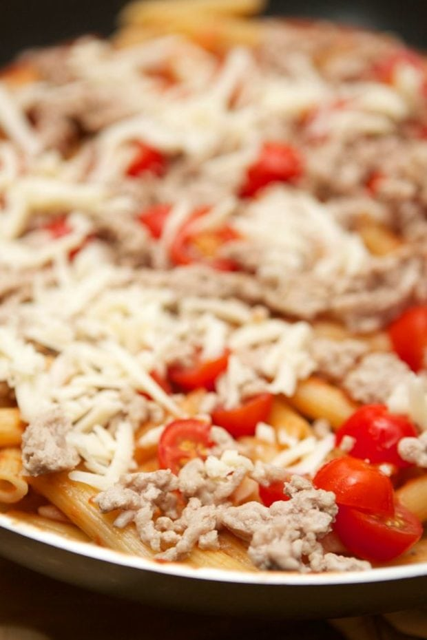 Penne Pizza Pasta Recipe