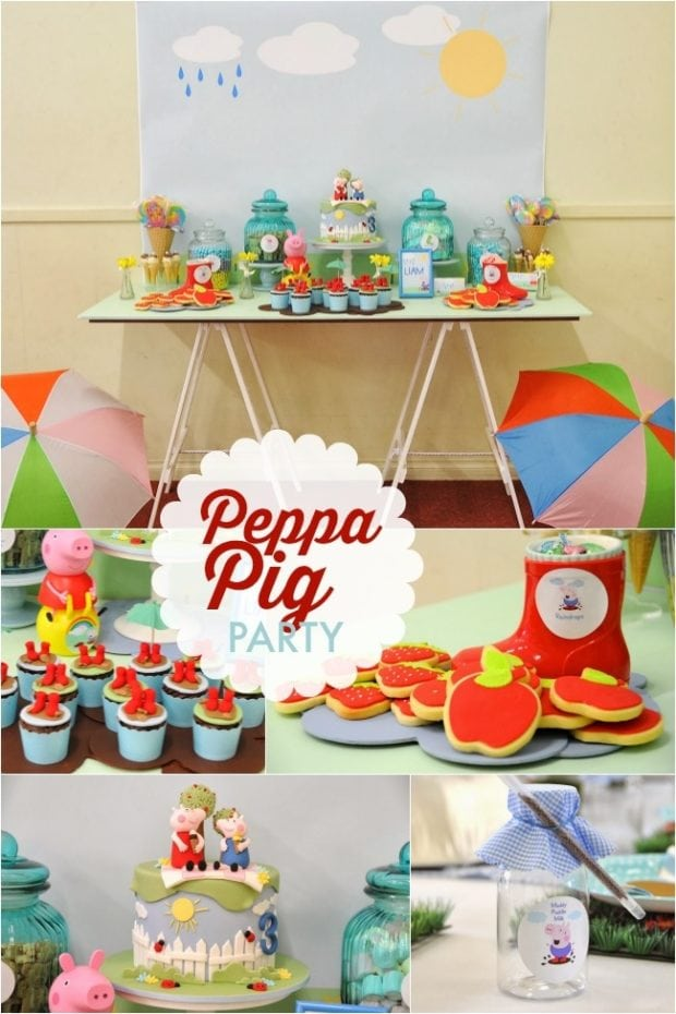 Puddle Jumping Boy S Birthday Party Fun With Peppa Pig