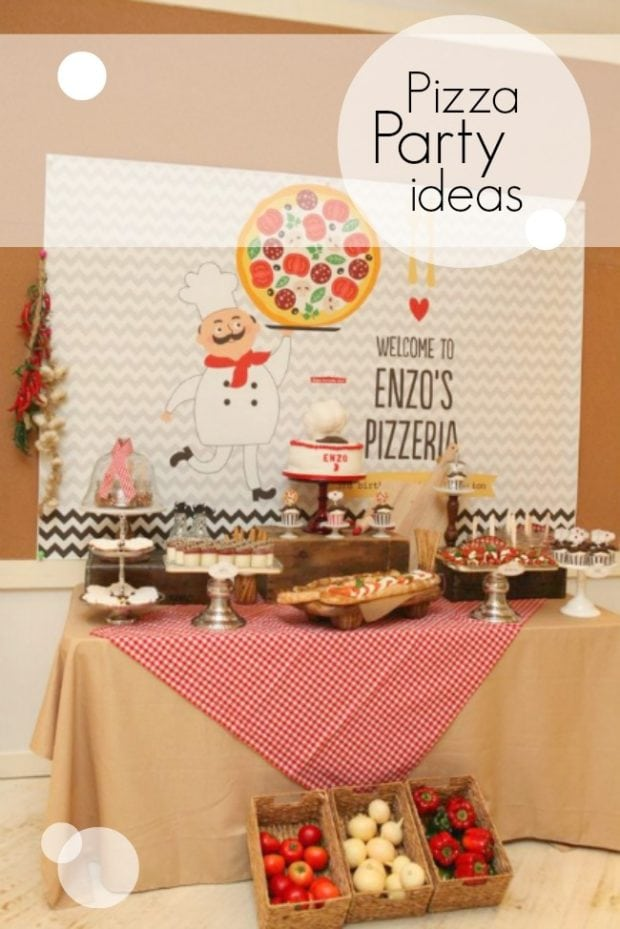 Pizza Birthday Party Ideas