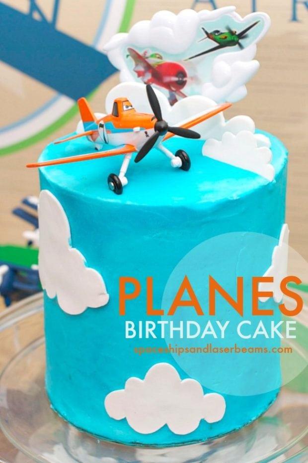 Super Sams Disney Planes Themed Birthday Cake Spaceships And Laser Beams Funny Birthday Cards Online Unhofree Goldxyz