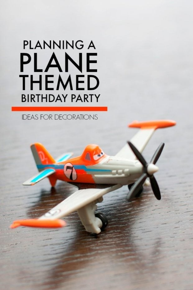 Planes Themed Birthday Party