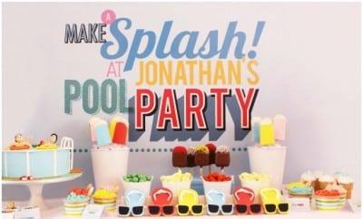 Pool Party Birthday Ideas