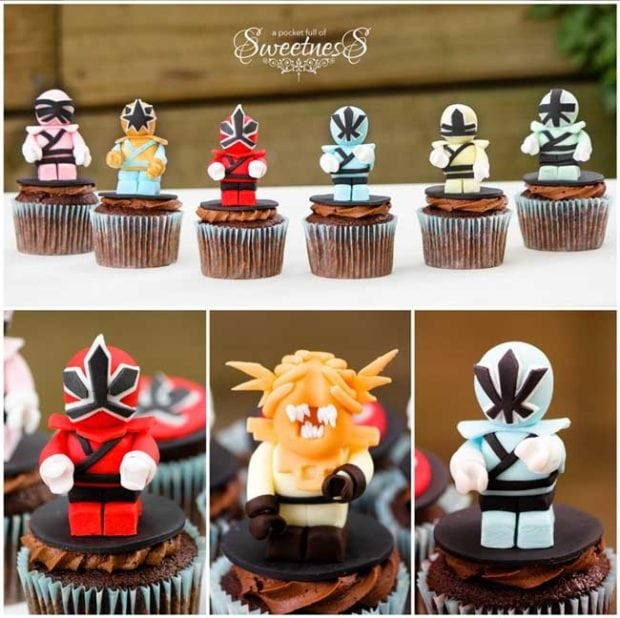 Power Rangers Cupcakes Spaceships And Laser Beams