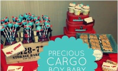 Precious Cargo Boy Baby Shower Ideas 343