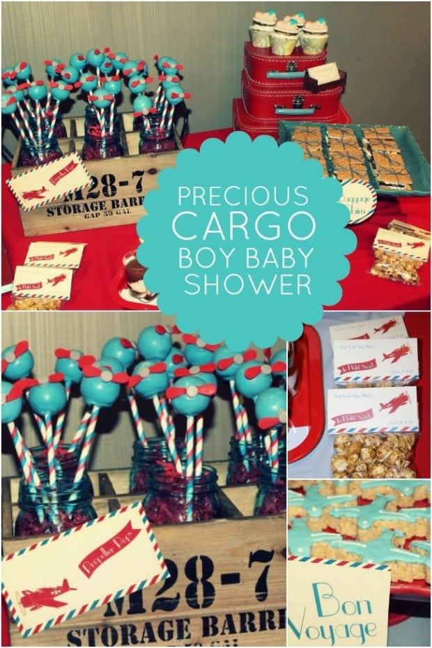 Baby Q Shower Theme Cake Ideas